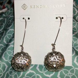 Kendra Scott Filigree Ball Drop Earrings